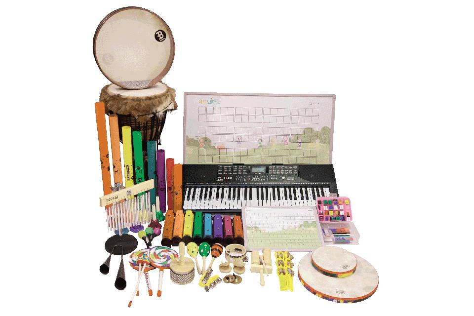 25p_특허받은 교구와 다양한 악기